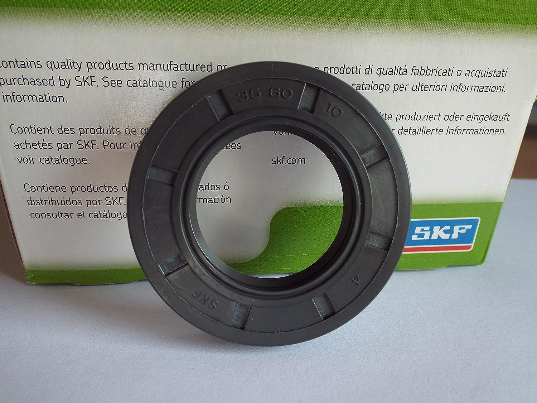 35 x 60 x 10 mm SKF reté n de aceite R23/TC doble labio Lancashire Seals