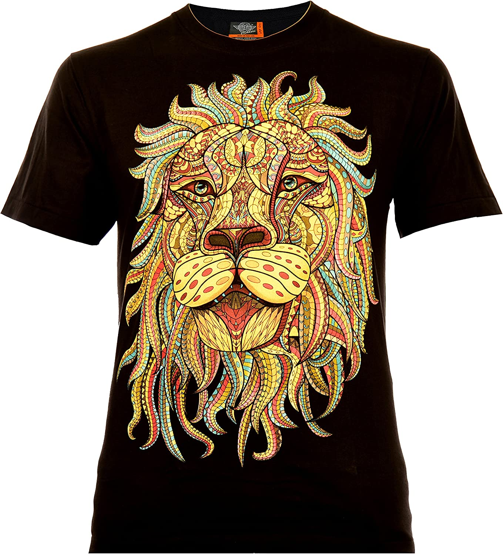 Classic Wear Rock Eagle International Rasta Lion Hombre Camiseta ...