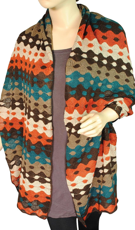 Immerschön edler Strickschal - ausgefallenes Design in tollen Farben Strick Schal Stola Tuch