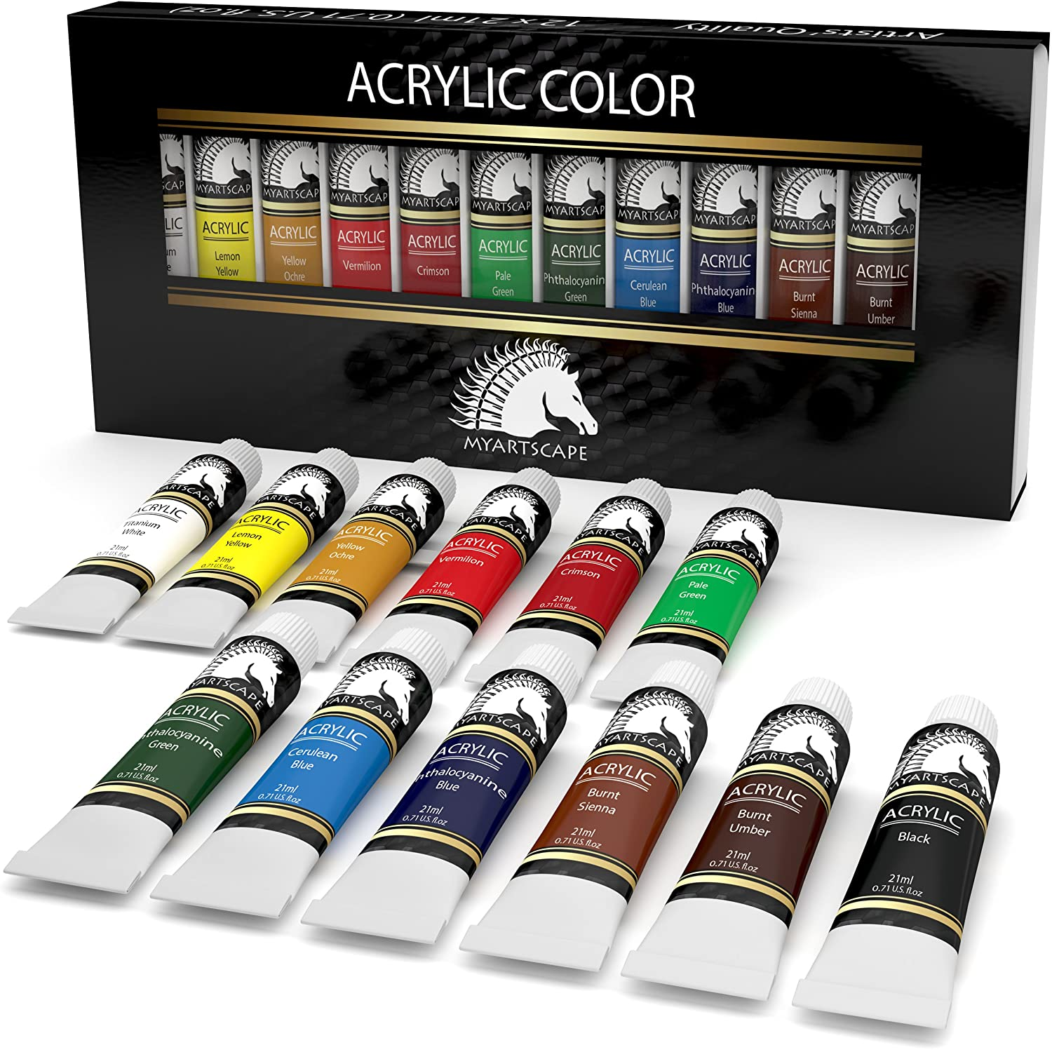 Crafts  All Acrylic Paints Set Upc