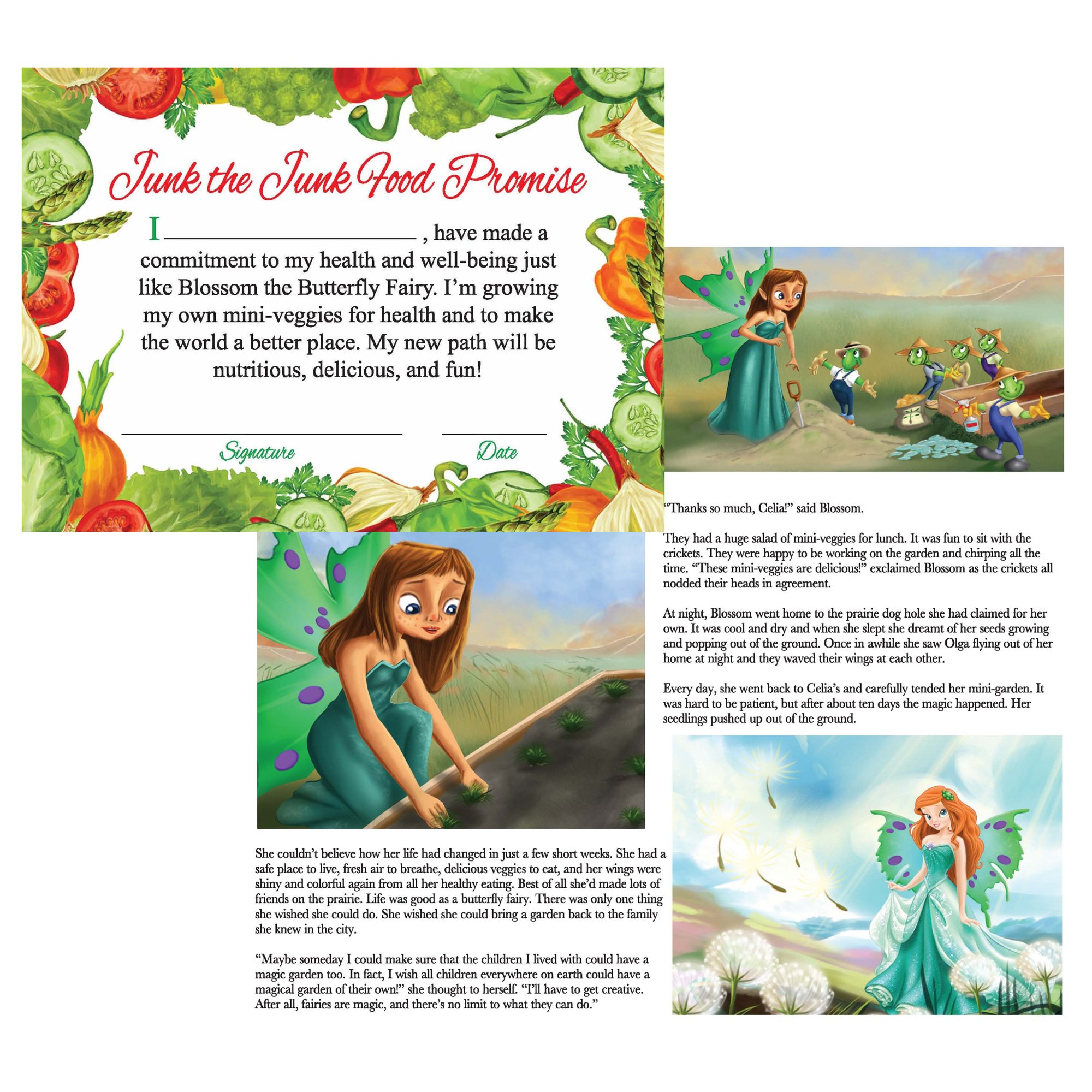 Window Garden Edible Fairy Garden Kit with an Enchanting Fairytale and Accessories by Window Garden (Image #7)