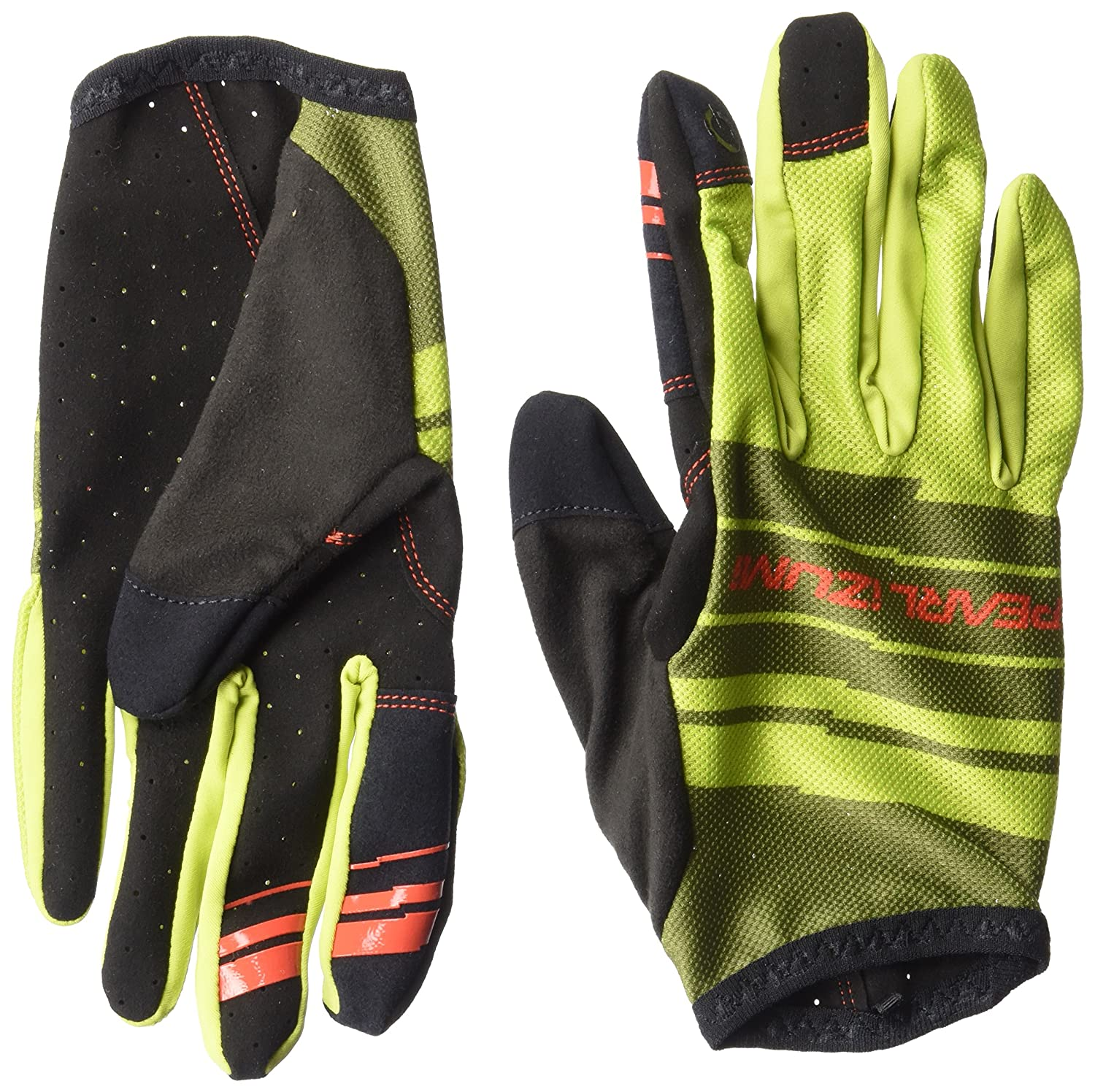 Large Pearl iZUMi Mens Divide Gloves Black//Black