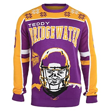 size 40 26f3d ea0c0 NFL Ugly Sweater/Pullover Christmas MINNESOTA VIKINGS Teddy ...
