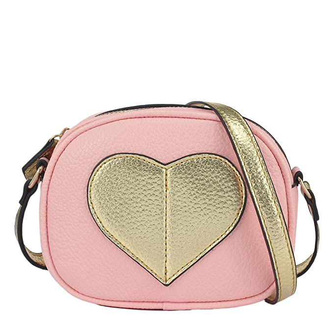 d56db0dfbb CMK Trendy Kids Mini Heart Shape Kids Purse and Handbags for Little Girls  Cross Body Bag
