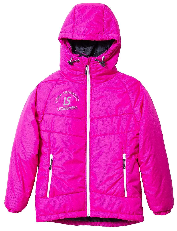 LUZeSOMBRA(ルースイソンブラ) ジュニア ALL ROUND INNER COTTON ジャケット F1821203 B07JH5KLF1 140|ピンク ピンク 140