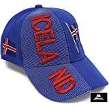 "1137c5df24cd0 High End Hats ""Nations of Europe Hat Collection"" 3D Embroidered Adjustable  Baseball Cap Includes"