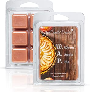 W.A.P. - Warm Apple Pie Scented Melt- Maximum Scent Wax - 1 Pack -2 Ounces- 6 Cubes WAPGreat Unique Funny Gift for Women, Men, BFF, Best Friend, Wife, Mom, Sister, Daughter, Girlfriend Partner