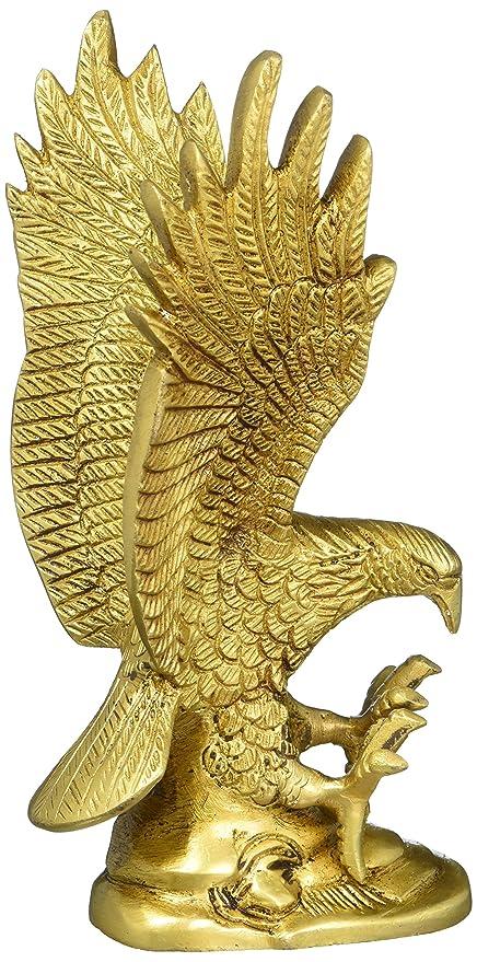 Amazon.com: Eagle Ornament Gifts Indian Figurine Sculpture Brass ...