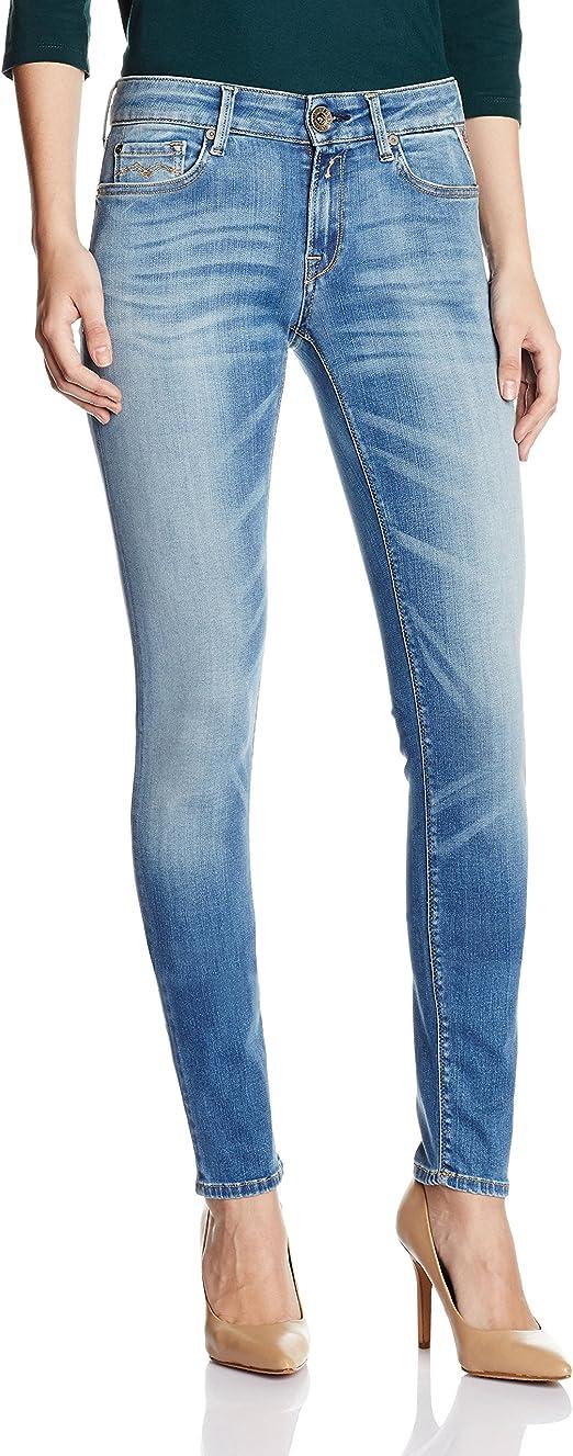 TALLA 25W / 30L. Replay Luz, Jeans Mujer