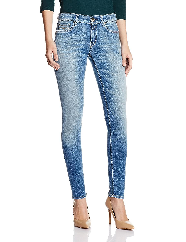 TALLA W25/L30 (Talla del fabricañote: 25). Replay Luz, Jeans Mujer