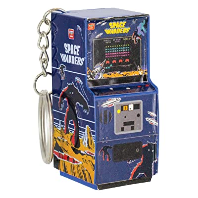 Paladone Space Invaders Retro Arcade Machine 3D Key Ring: Office Products