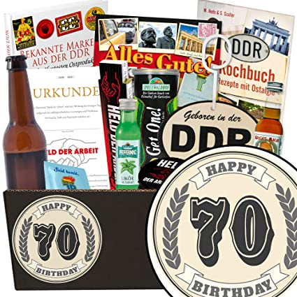 Geschenk Zum 70 Mannerbox Inkl Markenbuch Manner Paket 70