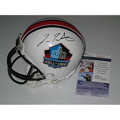 e8bc49b990f Fran Tarkenton Minnesota Vikings Autographed Hall of Fame Mini Helmet w JSA  COA