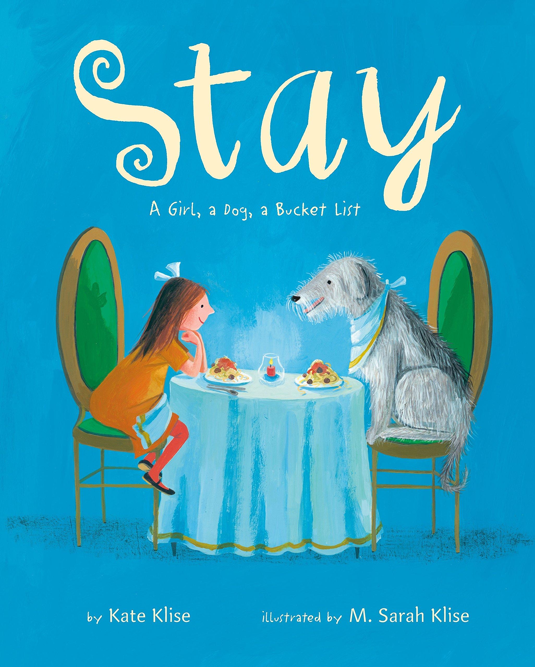 Stay: A Girl, a Dog, a Bucket List by Feiwel & Friends (Image #1)