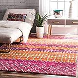 nuLOOM Moroccan Blythe Rug, 8' x 10', Orange