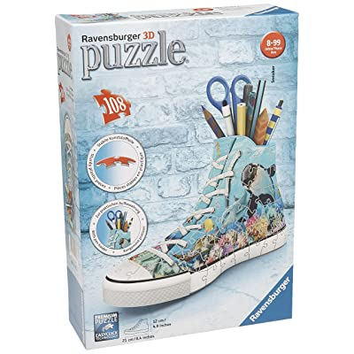 Sneaker - Underwater Design 108 Piece 3D Puzzle: Toys & Games