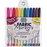 Tulip I Love To Create 26662 Fabric Markers 12/Pkg-Fine Tip