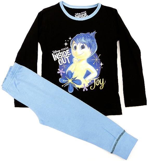 Oficial Niña Disney Pixar Adentro Hacia Afuera Joy Estampado Pijama Largo tallas desde 3 a 10
