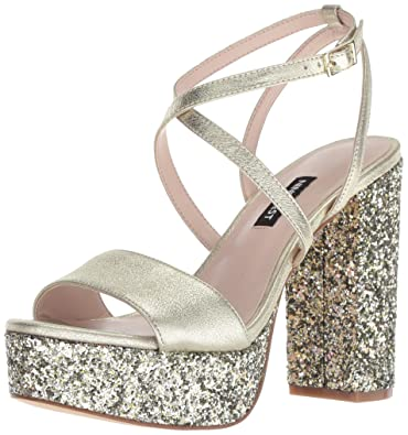 342d145915d4 Nine West Women s MARKANDO Metallic Heeled Sandal