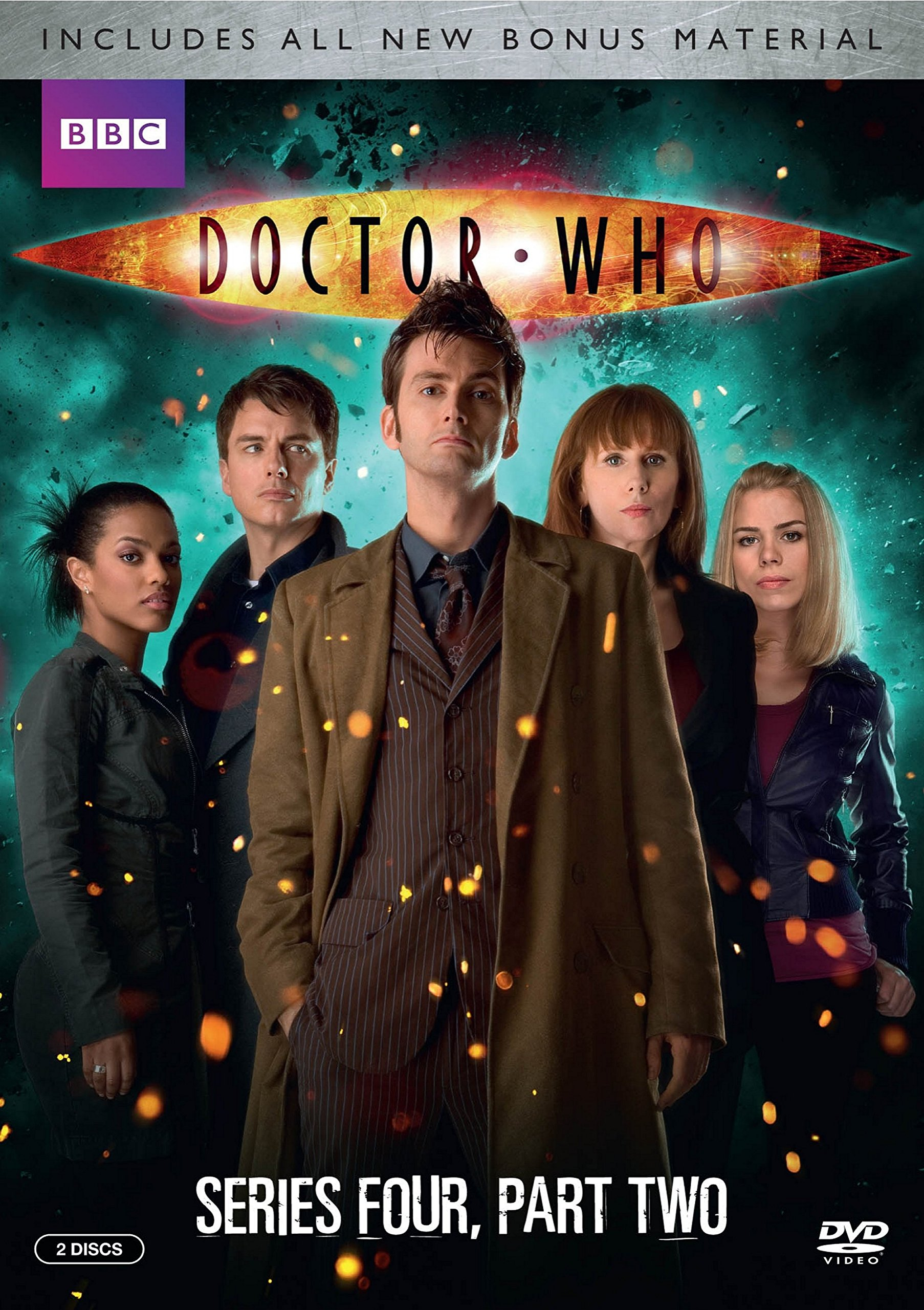 Doctor Who: Series Four: Part Two (DVD)