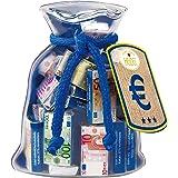 Confiserie Heidel Euro Geldsack, 72 g, 2er Pack (2 x 72 g)