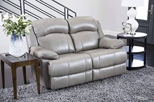 Abbyson Living Premium Top Grain Leather Reclining Loveseat