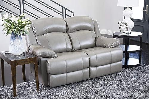 Abbyson Living Premium Top Grain Leather Reclining Loveseat