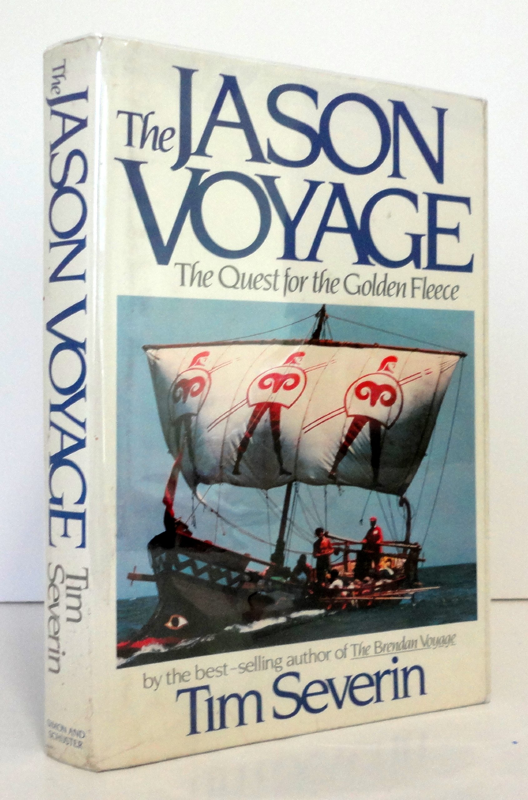 The jason voyage the quest for the golden fleece timothy severin the jason voyage the quest for the golden fleece timothy severin 9780671498139 amazon books fandeluxe Images