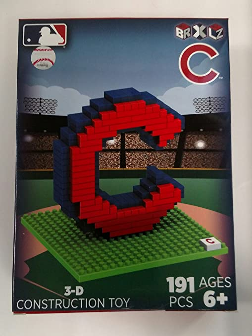60fe44e5b2d Image Unavailable. Image not available for. Color  Forever Collectibles MLB  Chicago Cubs BRXLZ 3D ...
