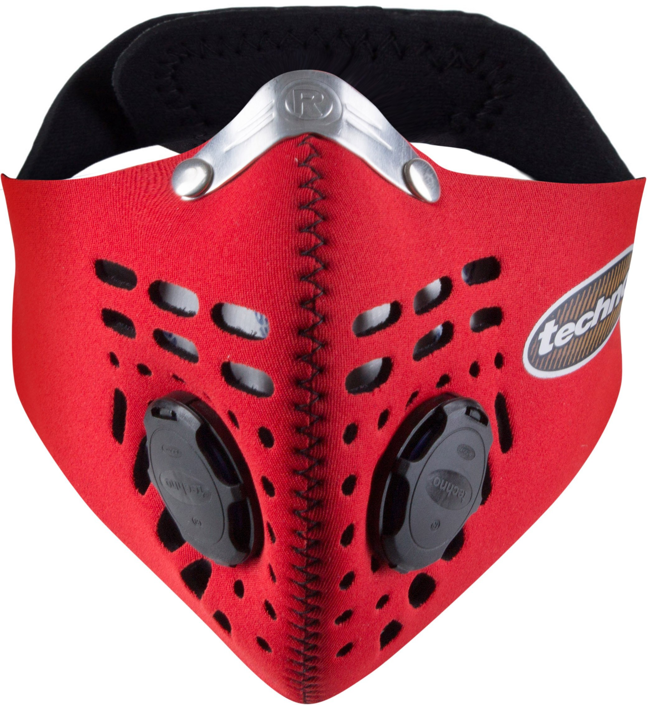 Respro Techno Anti-Pollution Mask - Medium - red by Respro (Image #1)
