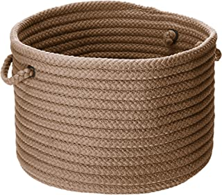 product image for Simply Home Solid Utility Basket, 14 by 10-Inch, Cashew