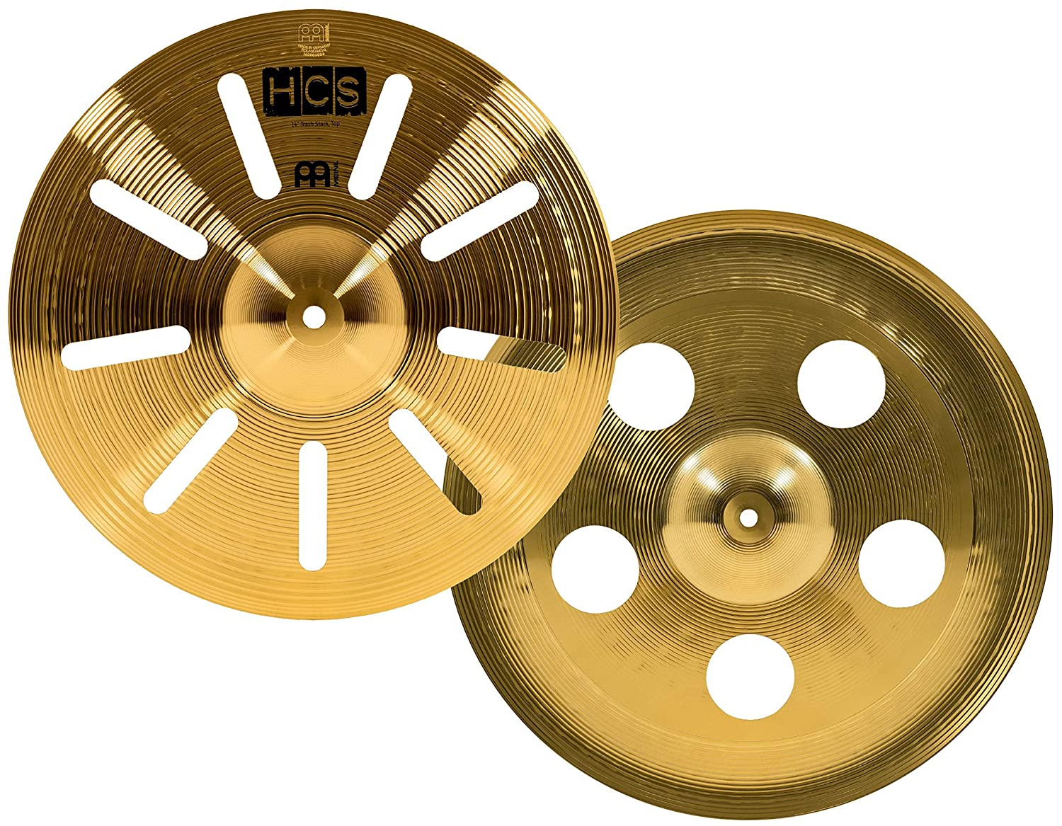 Meinl Cymbals HCS14TRS 14-Inch Traditional Trash Stack Cymbal Pair