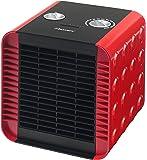 Bestron ACH1500R calentador de ambiente - Calefactor (230 V, 50 Hz) Negro, Rojo