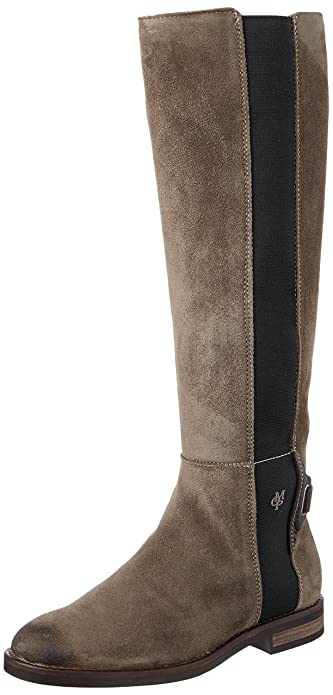 promo code 2b6e9 ebb15 Marc O'Polo Damen Flat Heel Long Boot 70814228001304 Stiefel