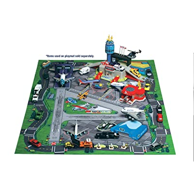 Large International Airport Play Mat Item #HR2039: Toys & Games