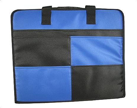 Amazon Memory Stor Portable Scrapbook Organizer Case In Blue