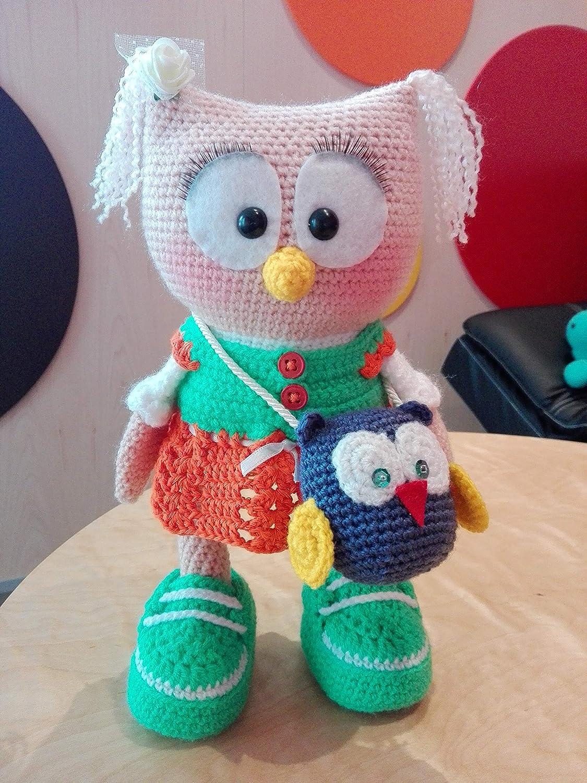 Amigurumi Owl Pattern, crochet owl pattern, owl pattern, crochet ... | 1500x1125