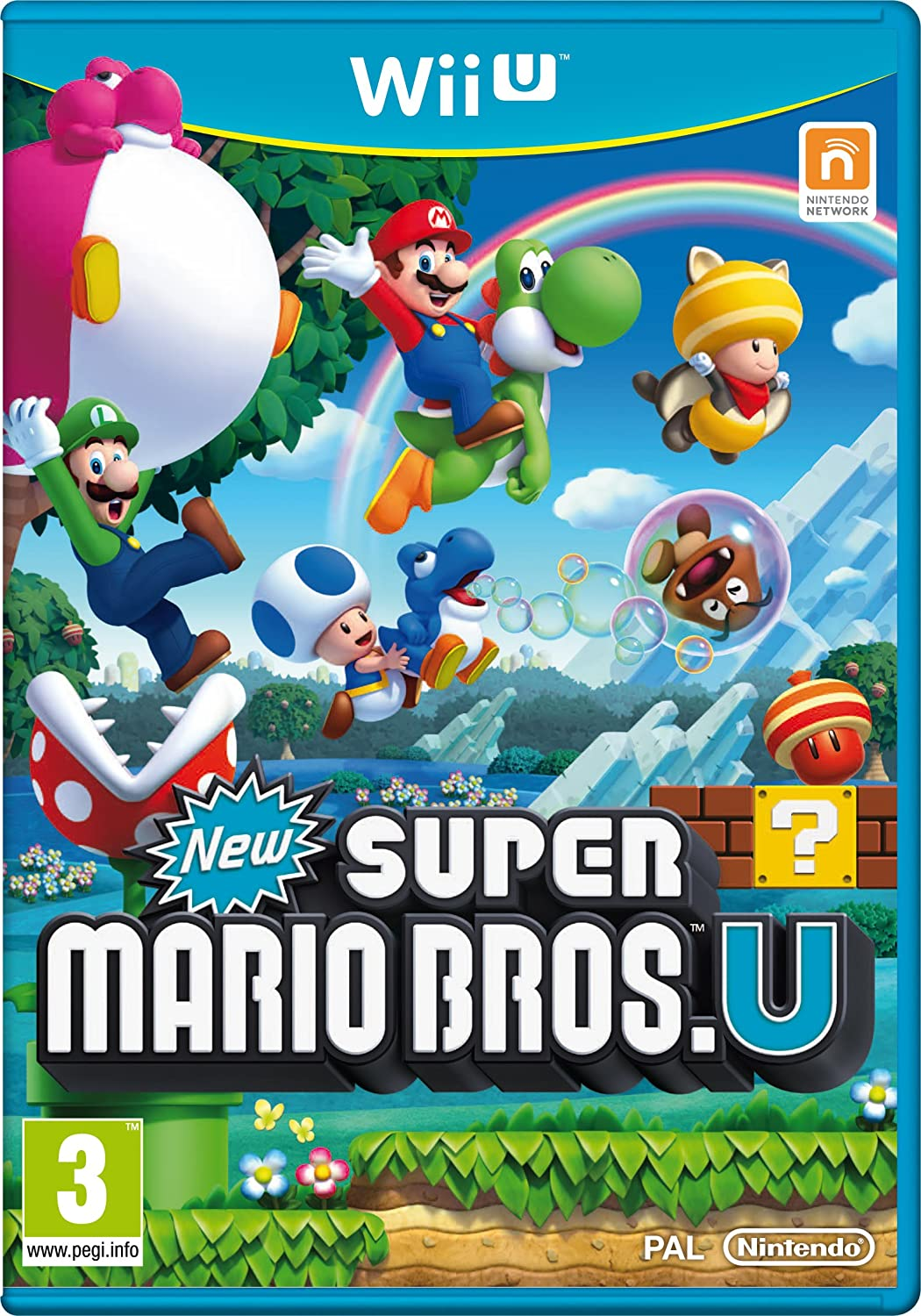 New Super Mario Bros U Amazon Fr Jeux Video