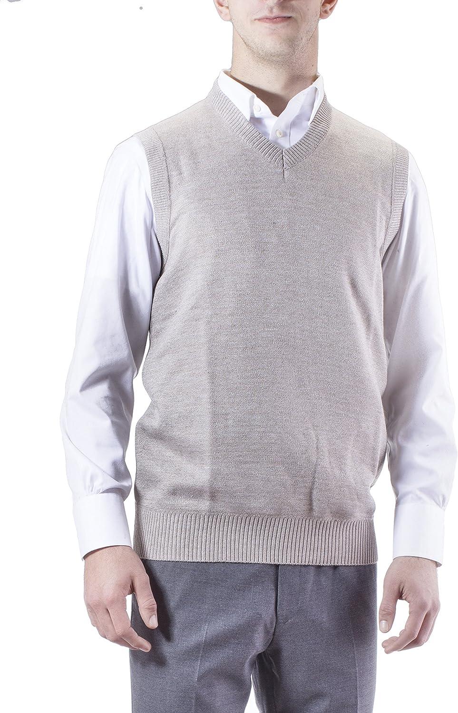 Grey, XXL Alberto Cardinali Mens Full Zip Fleece Jacket