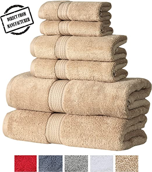 Sand 100/% Hygro Cotton Towel Individual or Set Extra Soft /& Absorbent