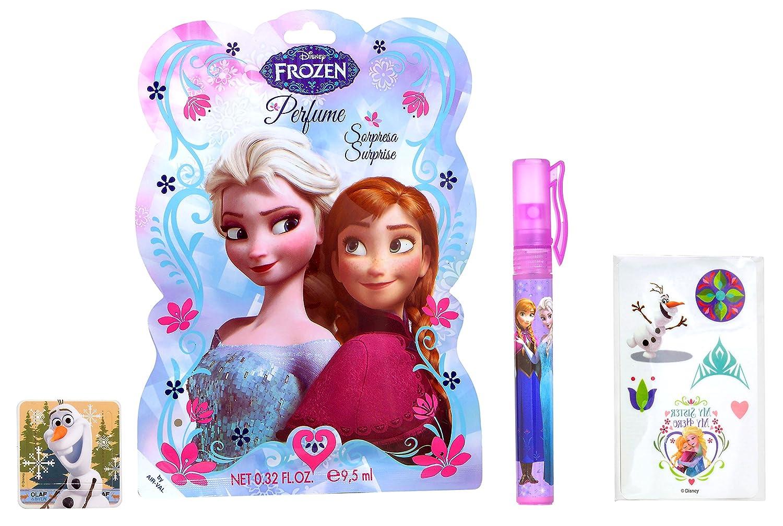 Air-Val Disney Frozen Wundertüten mit je 3 Überraschungen: Eau de Toilette Stift 9.5 ml mit Tattoos und Lesezeichen, 1er Pack (1 x 6 Stück) 1er Pack (1 x 6 Stück) P6316_6