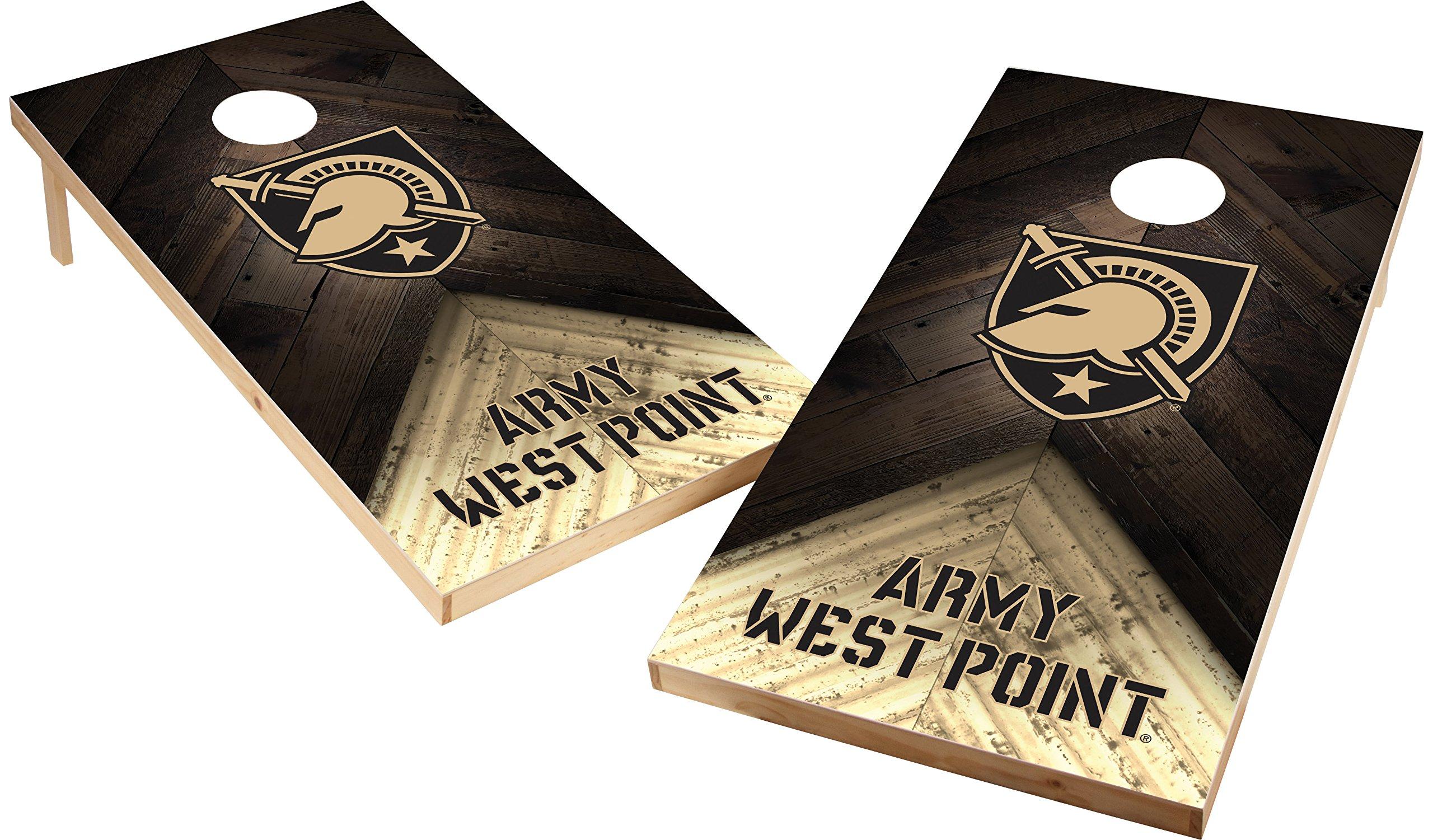 Wild Sports NCAA College 2'x4' Army Black Knights Cornhole Set