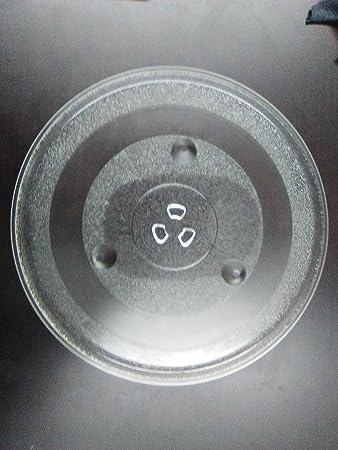 Nuevo repuesto horno microondas cocina cristal placa 12 3/8 ...