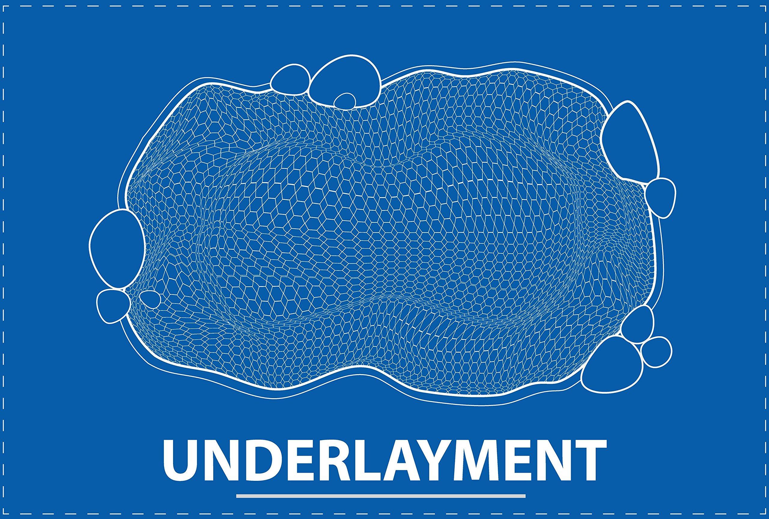 20 ft. x 35 ft. UnderGuard Geotextile Underlayment by UnderGuard
