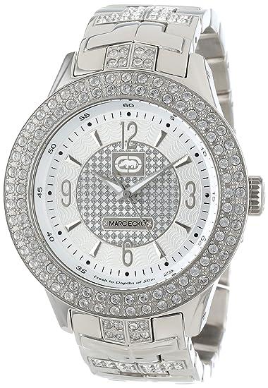 Marc Ecko E16533G1 - Reloj analógico de Cuarzo para Hombre con Correa de Acero Inoxidable, Color Plateado: Marc Ecko: Amazon.es: Relojes