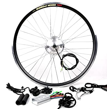 91V6bQ0acoL._SY355_PIcountsize 100TopRight00_SX348SY355SH20_ amazon com 36v350w hub motor electric bike conversion kit lcd  at aneh.co