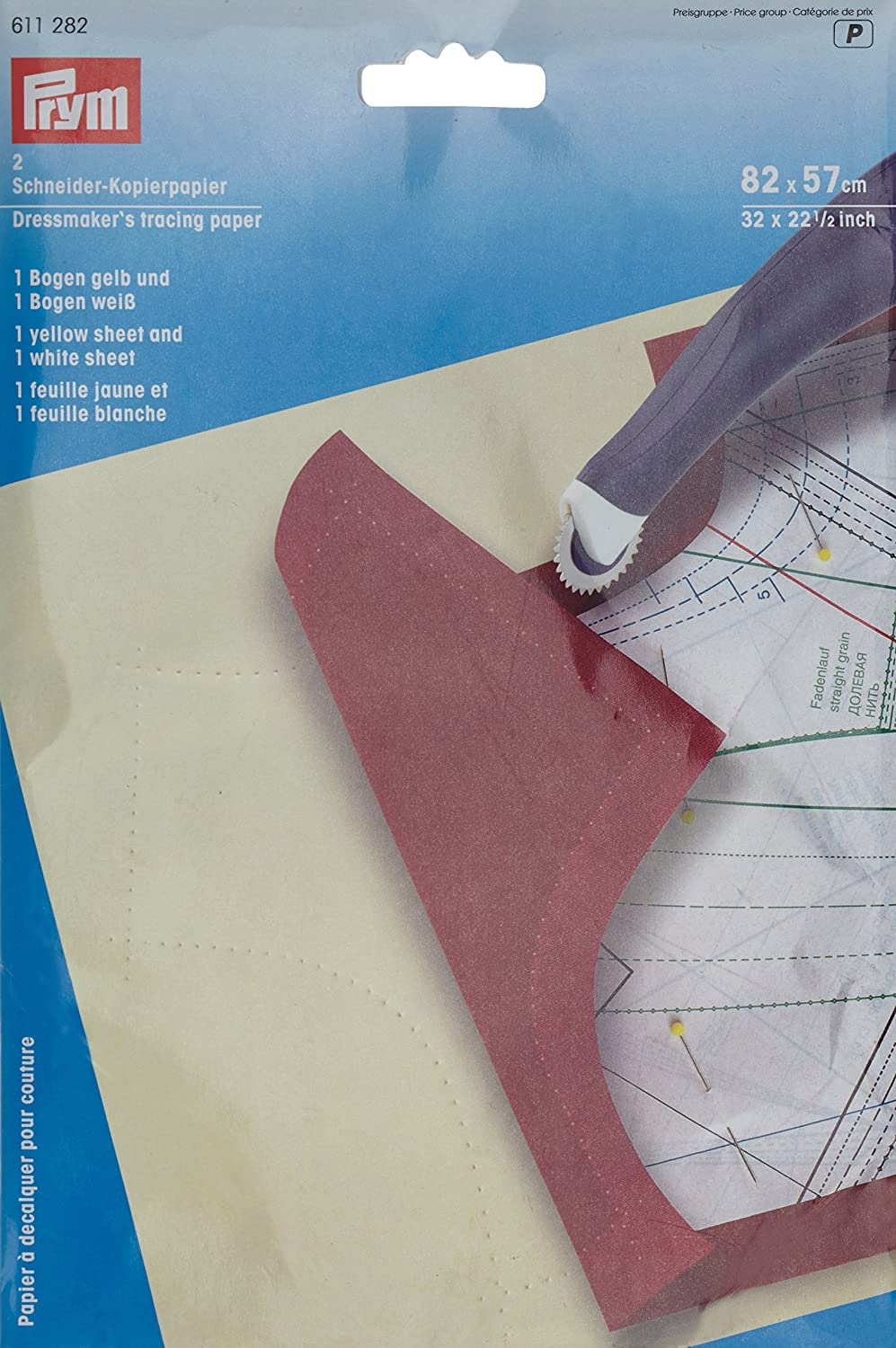 PRYM 611282 Tracing paper, 2 sheets by PRYM PRYM_611282