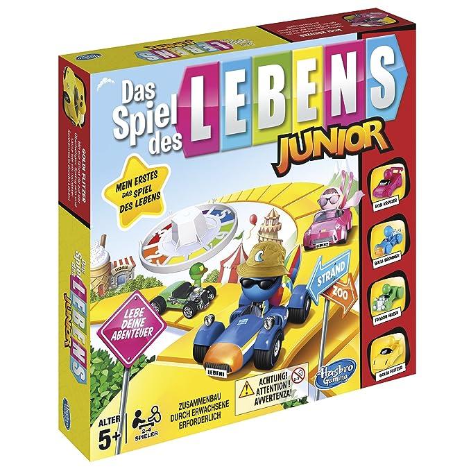 Hasbro Gaming B0654gr0 Das Spiel Des Lebens Junior Kinderspiel