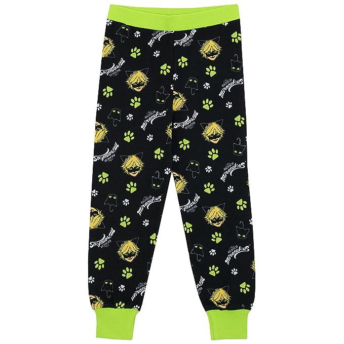 Miraculous Ladybug - Pijama para Niños - Cat Noir - Ajuste Ceñido: Amazon.es: Ropa y accesorios