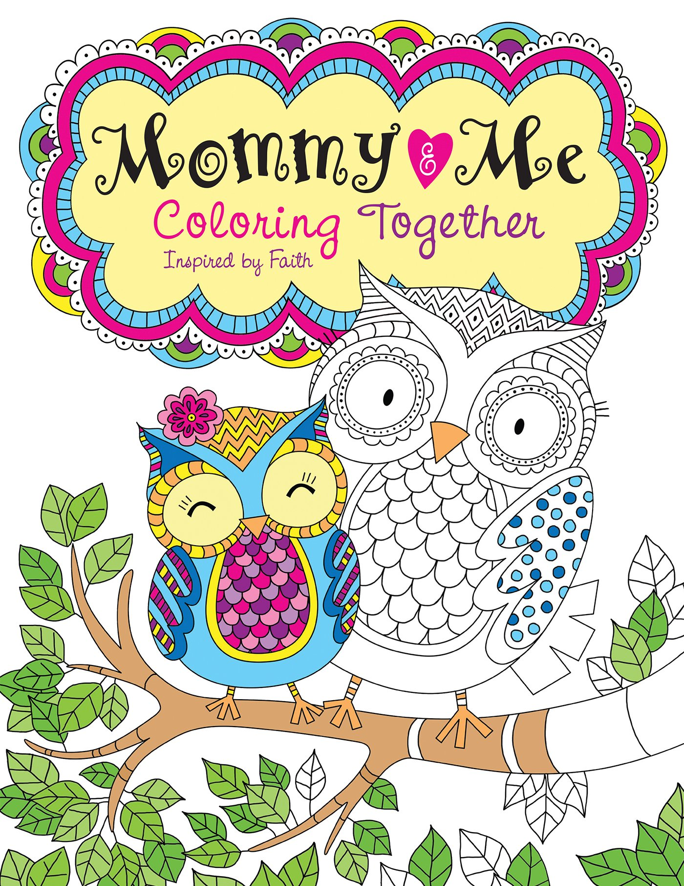 Mommy Me Coloring Together Inspired product image